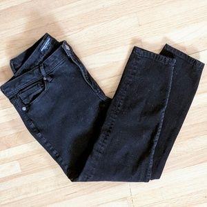 29 Banana Republic black skinny jeans